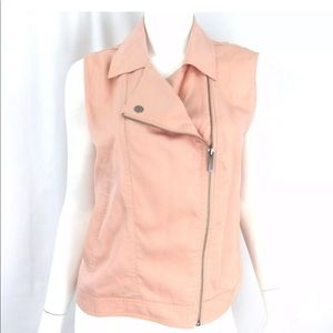 NWT Anthropologie Sanctuary Pink Blush Vest!